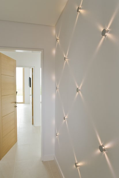 Private residence milford on sea feature wall feature wall feature lighting aloadofball Gallery