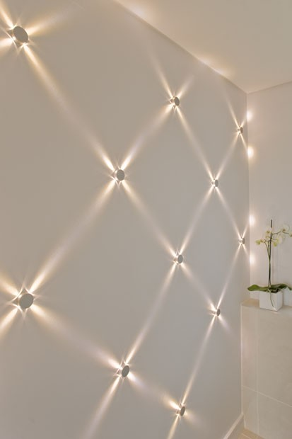 Private residence milford on sea feature wall feature lighting aloadofball Gallery