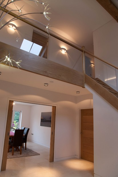 Joe Burke Lighting Design Private Residence New Forest