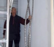 Setting in-situ before polishing